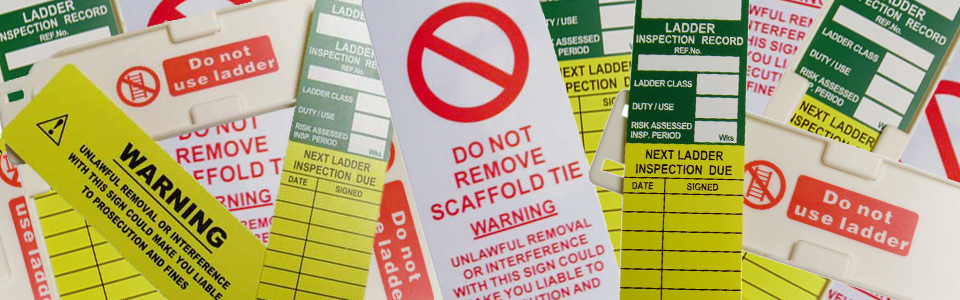 SafeTags and Scaffold Tags - Scafftex Scaffolding Systems Ltd. Ireland